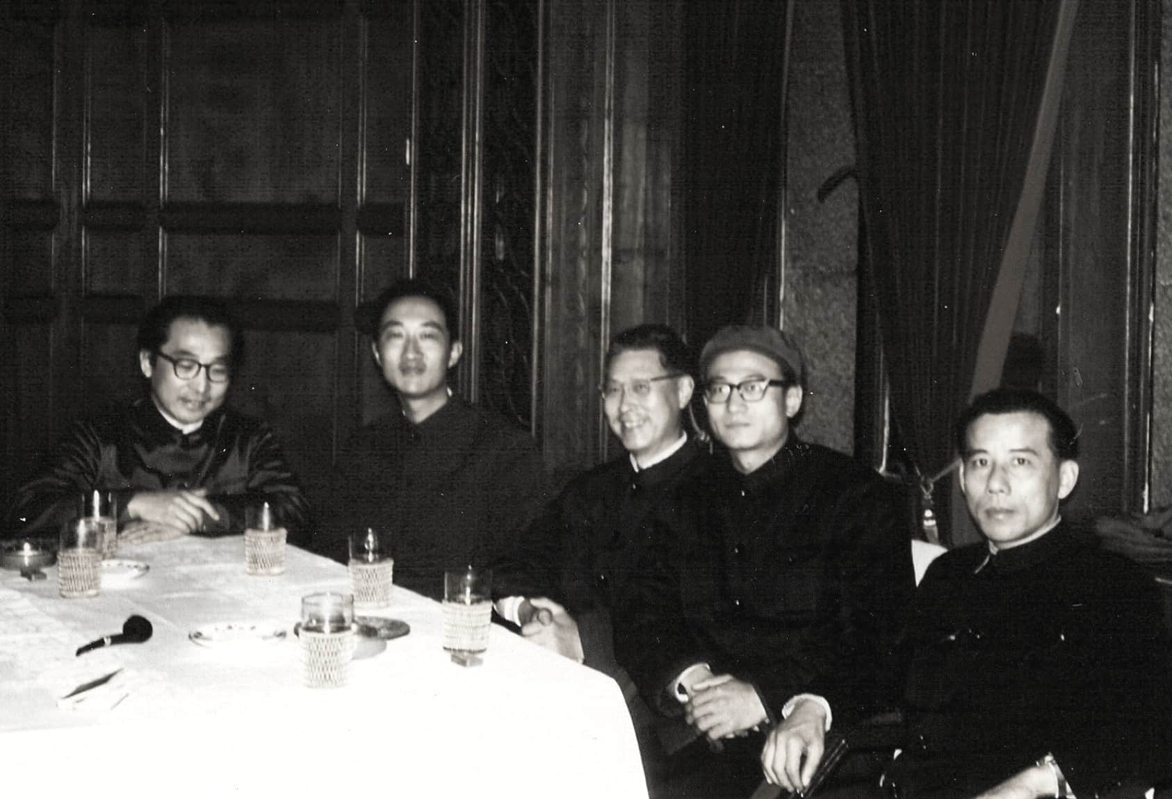 In 1972, Prof. Chou Wen-chung visited China for the first time since his departure in 1946