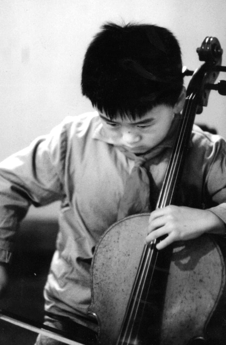 A young virtuoso at the Shanghai Conservatory