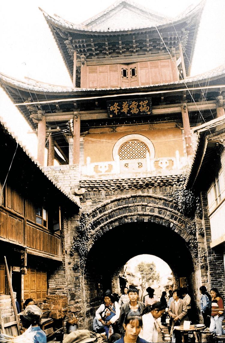 Belltower in Weishan
