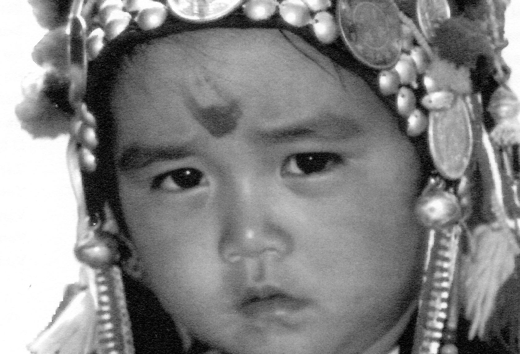 Hani girl, Manmo Village