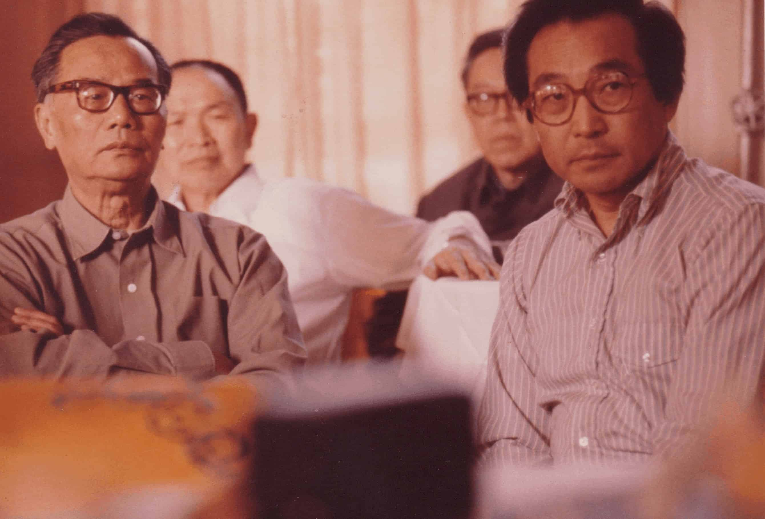 Lin Mohan and Chou Wen-Chung in China