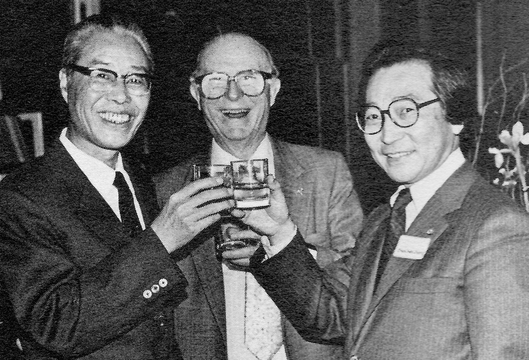 Wang Zicheng, Porter McKeever, and Chou Wen-chung