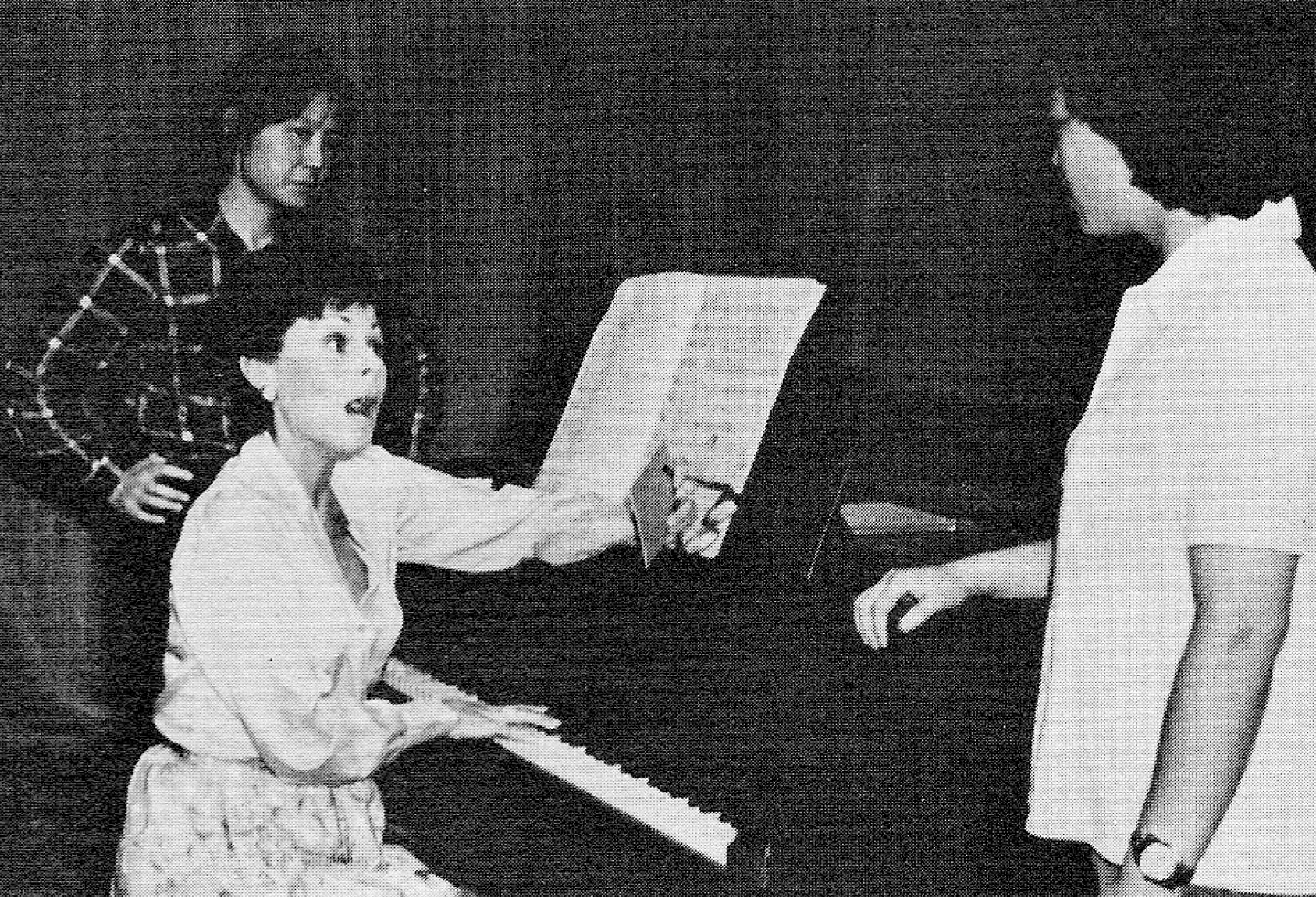 Roberta Peters, coloratura soprano of the Metropolitan Opera, visited China for ten days at the invitation of the Chinese Ministry of Culture in September 1980. Ms. Peters gave public performances in Beijing, Shanghai, and Guangzhou and also conducted master classes at the conservatories, where she found vocal students performing difficult works such as those of Puccini, Bellini, and Handel. Ms. Peters was moved by the determination of the students to make up for time lost during the Cultural Revolution.