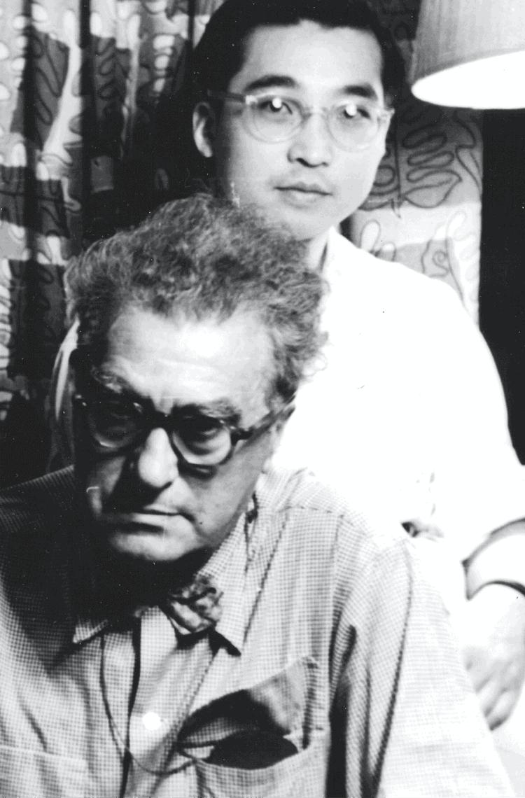 Edgard Varèse and Chou Wen-Chung in New York City