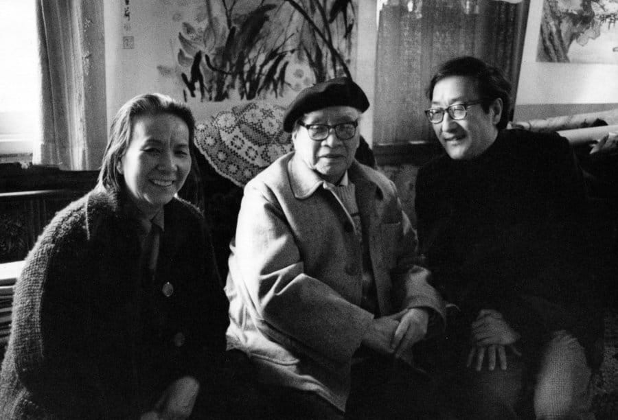 Liu Haisu and Cornelius Chang in Beijing
